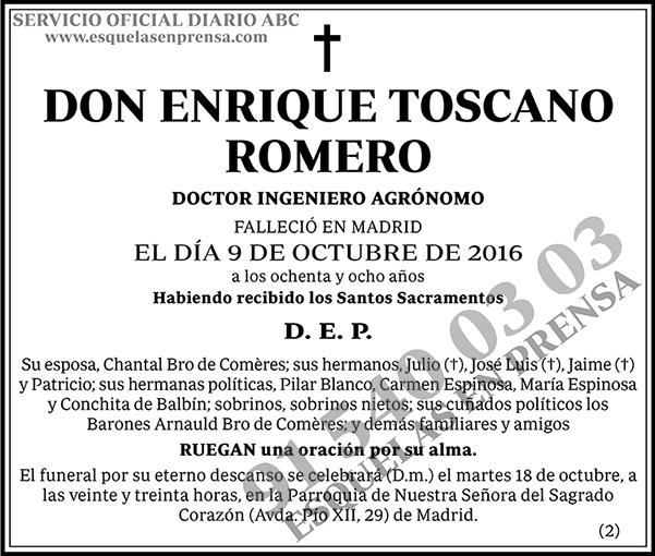 Enrique Toscano Romero